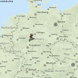 marburg deutschland karte Karte von Marburg :: Deutschland Breiten  und Längengrad