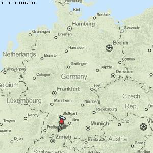 tuttlingen karte deutschland Karte von Tuttlingen :: Deutschland Breiten  und Längengrad