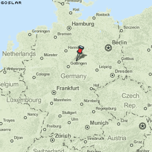 Goslar Karte.Karte Von Goslar Deutschland Breiten Und Längengrad Kostenlose