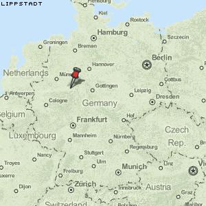 lippstadt karte deutschland Karte von Lippstadt :: Deutschland Breiten  und Längengrad
