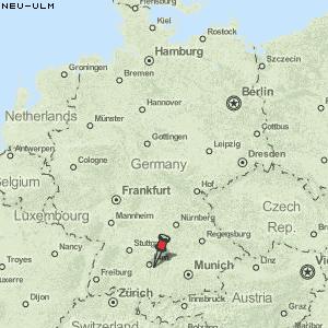 ulm deutschland karte Karte von Neu Ulm :: Deutschland Breiten  und Längengrad